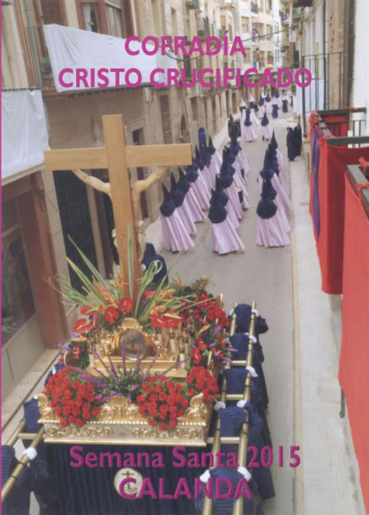 Folleto de la Cofradía de Cristo Crucificado